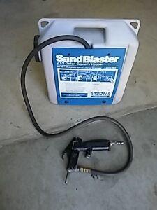 Sandblaster Campbell Hausfeld portatif