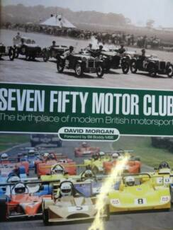 SEVEN FIFTY MOTOR CLUB book about c2009 by DavId Morgan Perth Perth City Area Preview