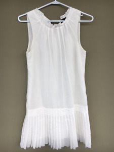 Robert Rodriguez designer white summer dress