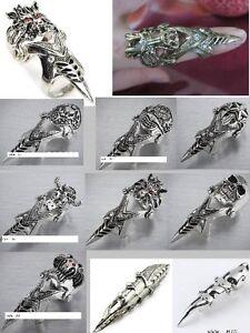 Bague Dragon bronze,dragon ring ,gothique,punk,rocker,medieval West Island Greater Montréal image 9