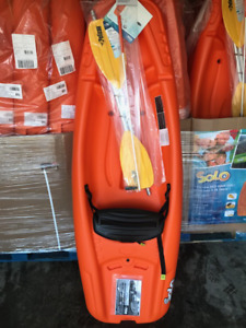 Pelican kids Solo Kayak package instock now in orange