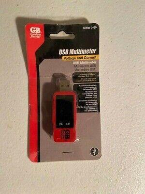 Gardner Bender Usb Multimeter Test Meter Detector Voltagecurrent Tester
