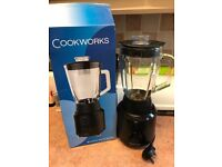 Cookworks black glass blender