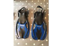 Two Bare Feet Children's Diving Flippers L/XL ( UK size 1-4 )