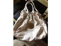 Mulberry Cream Leather Handbag