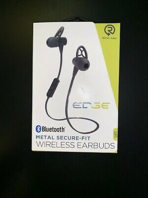 847181050284, BRAND EDGE, BLACK, ONE SIZE, CONDITION NEW. WIRELESS EARBUDS