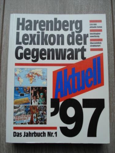 HARENBERG LEXIKON DER GEGENWART - AKTUELL 97 - DAS JAHRBUCH NR. 1