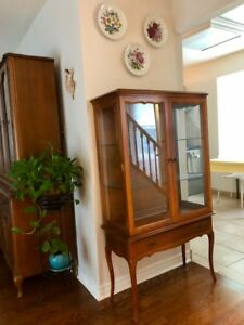 Vintage China Cabinet (Made In 1967)