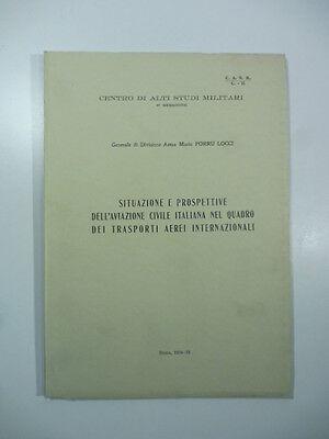 Situazione e prospettive dell'aviazione civile italiana, 1954