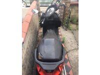 Piaggio X7 125 Scooter Black