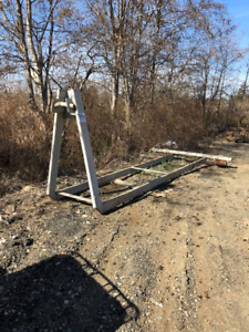 """52"""" hook lift frame with rollers"""