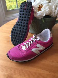 Womens New Balance 410 Classics Sneakers Rose Pink White U410-MP