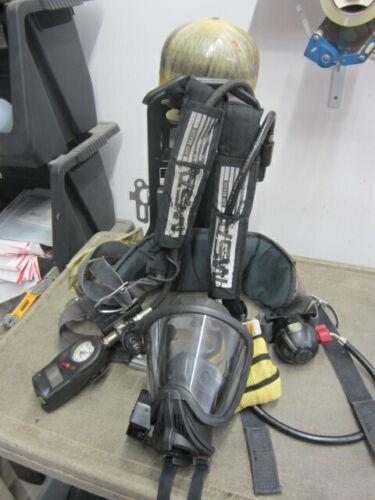 MSA Firehawk SCBA w/ L-30 Carbon Bottle & Face Piece Mask w/HUD 2017 Hydro