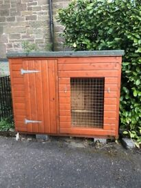 Dog Kennel -Wooden Outdoor Kennel