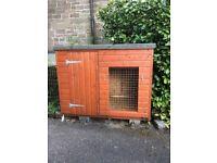Dog Kennel -Wooden Outdoor Kennel