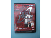 Red Dwarf Original Series 1 One 2 Disc Set Inc Bonus Chris Barrie Craig Charles