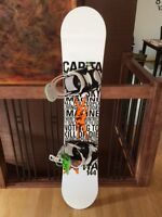 Capita Snow Board (144cm), Vans Boots (144) & Flow Bindings
