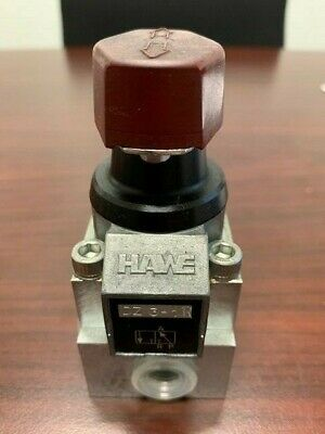 Hawe Manual 3 Way Valve Wbase - Dz3-1r