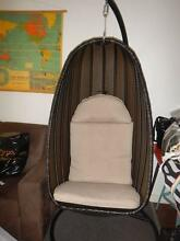 Hanging egg chair (Harvey Norman) used indoors only. Enfield Port Adelaide Area Preview