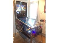 Virtual Pinball Machine Arcade Machine For Sale * Any Design You Want *Plays hundreds pinball tables