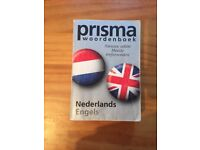 PRISMA DUTCH-ENGLISH DICTIONARY FOR SALE !