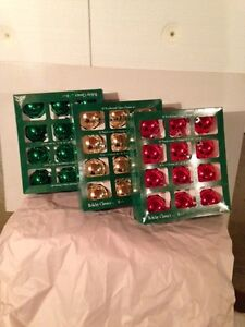 Red, Green and Gold Xmas Balls for Sale Comox / Courtenay / Cumberland Comox Valley Area image 1