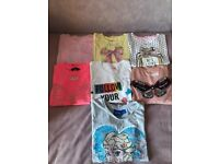 Girl's Tops and Leggings Age 7-8 Years