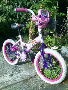 "Girls Disney Kids bike w 16"" Wheels"