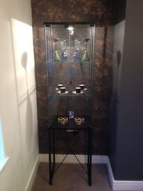 Ikea Glass Display Cabinet With Lights