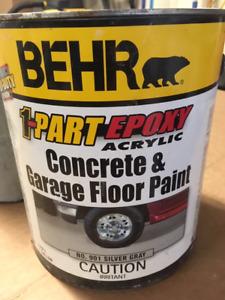 EPOXY CONCRETE / GARAGE FLOOR PAINT