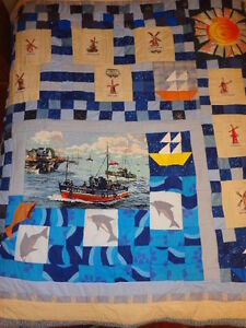 Quilt / Bedspread, Home Made, Titled People of the World 3 Oakville / Halton Region Toronto (GTA) image 2