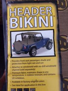 JEEP BIKINI AND DUSTER DECK COVER