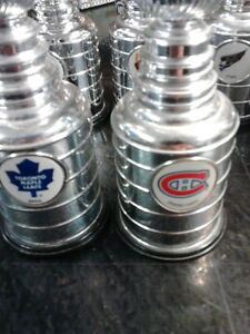 4 Inch Stanley Cups with team logos