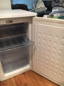 Haier White Freezer- 4 Shelves. Clean and Working.