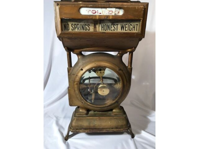 Antique/Vintage Toledo Honest Weight Grocery Scale #384BY
