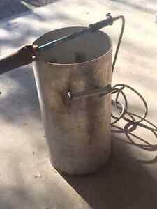 Stainless Corn Roast Pot/ with torch