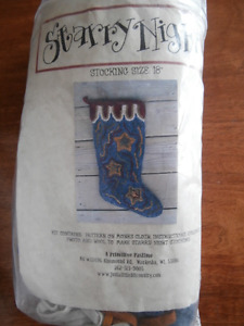 Rug Hooking stocking Kit