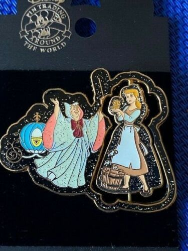 Disney Cinderella & Fairy Godmother - Rags to Riches (Spinner)  Pin