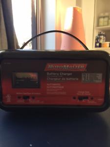 Chargeur de batterie automatique MotoMaster