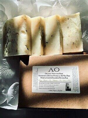 Organic Hope 4 Hair Peppermint Mentha Piperia + AU Tea Tree, Hemp, Castor