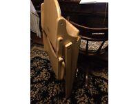 Folding Baby High Chair Feeding Seat Wood
