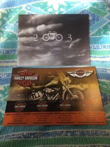 Rare 2003 Harley Davidson 100th Anniversary Brochures