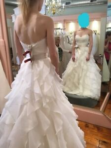 Wedding dress, Paloma Blanca, size 2, originally $2500.