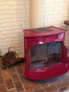 Vermont Casting Wood Stove/Fireplace- Like New