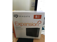 Seagate Expansion 5 TB USB 3.0 Desktop 3.5 inch External Hard Drive