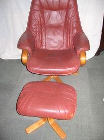 retro/vintage andersson -swedish design reclining chair