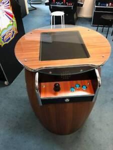WINE BARREL 60 GAME 2 PLAYER ARCADE MACHINE NEW LIMITED STOCK