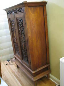 Antique Cabinet with carved doors
