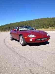 jaguar  convertable supercharged