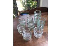 19 Glass Ramekins. Collect from Fulham
